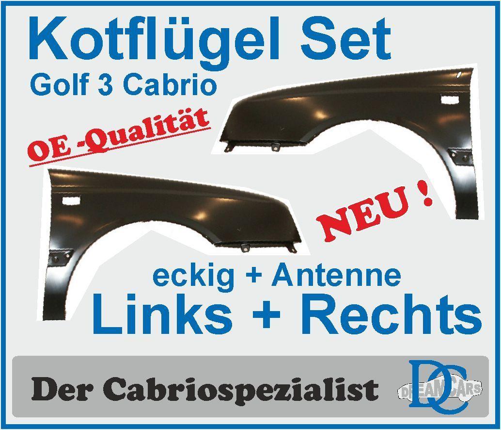 kotfl gel set cabrio golf iii links rechts eckige blinker. Black Bedroom Furniture Sets. Home Design Ideas